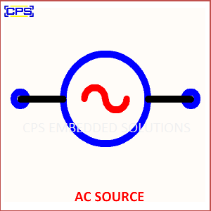 Electronic Components Symbols - AC SOURCE