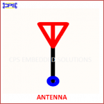 ANTENNA ELECTRONIC SYMBOL OR SCHEMATIC SYMBOL