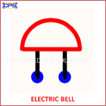 ELECTRIC BELL ELECTRONIC SYMBOL OR SCHEMATIC SYMBOL