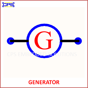 Electronic Components Symbols - GENERATOR