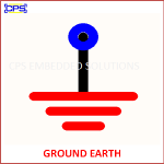 GROUND EARTH ELECTRONIC SYMBOL OR SCHEMATIC SYMBOL
