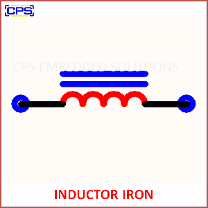 Electronic Components Symbols - INDUCTOR IRON