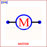 MOTOR ELECTRONIC SYMBOL OR SCHEMATIC SYMBOL