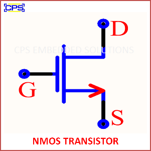 Electronic Components Symbols - NMOS TRANSISTOR
