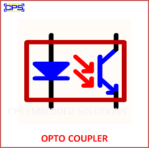 Electronic Components Symbols - OPTO COUPLER