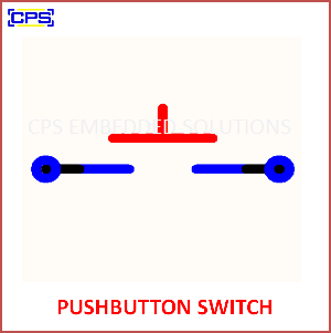 Electronic Components Symbols - PUSH BUTTON SWITCH