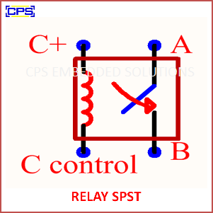Electronic Components Symbols - RELAY SPST