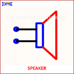 SPEAKER ELECTRONIC SYMBOL OR SCHEMATIC SYMBOL