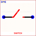 SWITCH ELECTRONIC SYMBOL OR SCHEMATIC SYMBOL