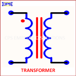 TRANSFORMER ELECTRONIC SYMBOL OR SCHEMATIC SYMBOL