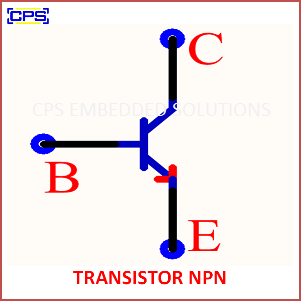 Electronic Components Symbols - TRANSISTOR NPN