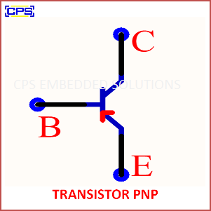 Electronic Components Symbols - TRANSISTOR PNP