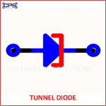 TUNNEL DIODE ELECTRONIC SYMBOL OR SCHEMATIC SYMBOL