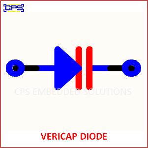 Electronic Components Symbols - VERICAP DIODE