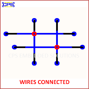 Electronic Components Symbols - WIRES CONNECTED